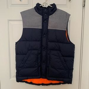 H&M Light/Dark Blue Puffy Vest